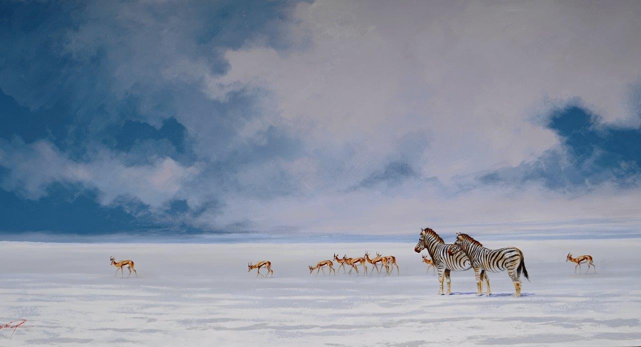 Shall we Follow  Price: R28,000.00 Dimensions: 200 x 100 Medium: Acrylic on canvas