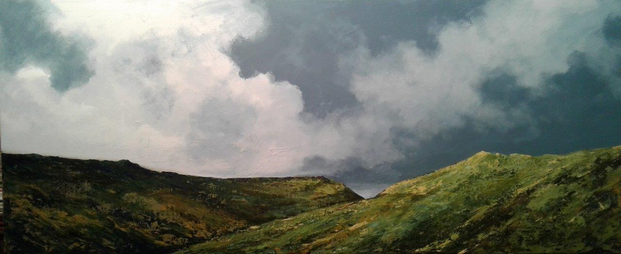Wilderness  Price: R12,800.00 Dimensions: 150 x 60cm Medium: Oil on canvas/masonite